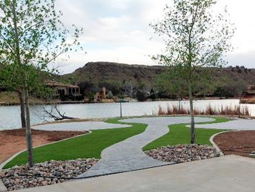 Synthetic Turf Supplier Norwalk, California Landscape Rock artificial grass